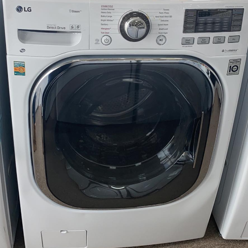 LG WM3997HWA 4.3 cu.ft. Ultra Large Capacity Front Load Washer / Dryer Combo