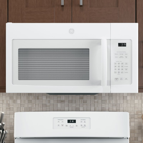 GE 1.6-cu ft Over-the-Range Microwave (White)